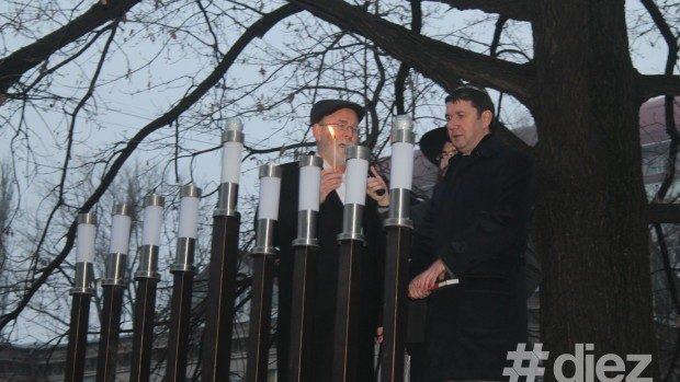 Comunitatea evreiască din Moldova a început sărbătoarea de Hanuka
