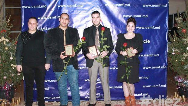 (foto) Gala Studenţilor Laureaţi USMF şi-a desemnat bravii premianţi