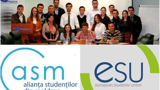 Alianța Studenților din Moldova a devenit candidat membru al Uniunii Europene a Studenților