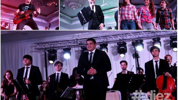 """(foto, video) Chișinău Youth Orchestra a """"rupt"""" publicul cu piese POP în variantă simfonică"""