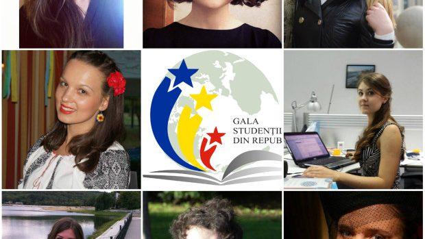 Ei sunt studenții nominalizați la Gala Studenților Originari din Moldova 2014