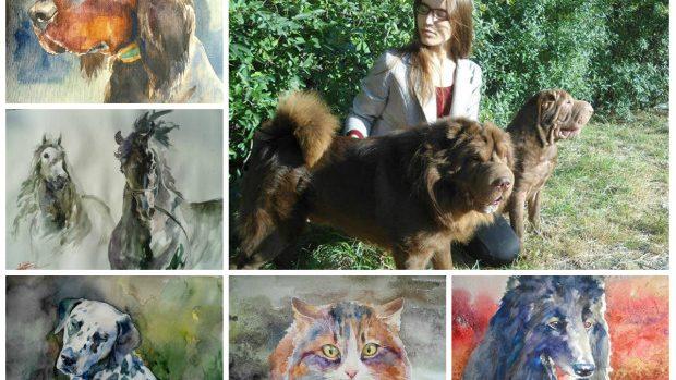 (foto) Tânăra care are o pasiune aparte față de animale și crează adevărate opere de artă