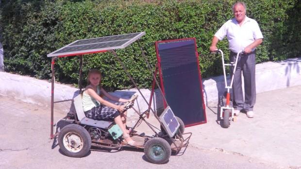 (foto, video) Mașinuțele care folosesc energie solară la Școala Profesională din Comrat