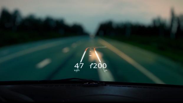 (video) Aplicația de smartphone care transformă parbrizul în GPS