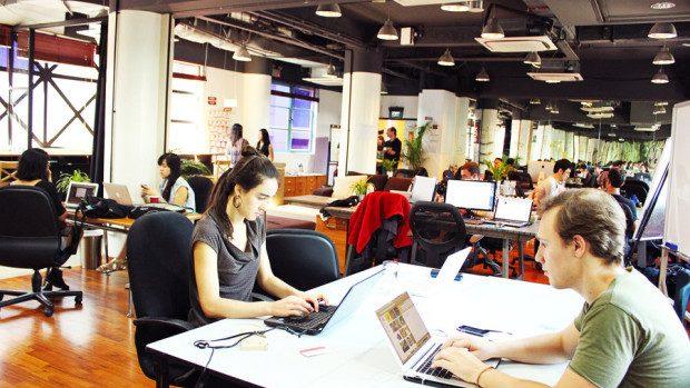 (foto) Premieră: Co-working space în Chișinău pentru tinerii antreprenori