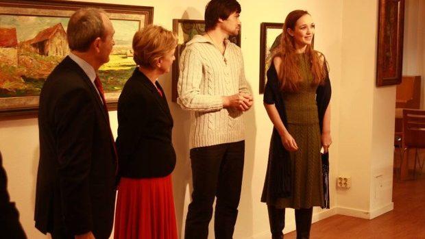 (foto) Artiști plastici basarabeni și-au expus lucrările la Stockholm