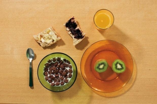 Cum se alimentează Nathanaël Witschi Picard la micul dejun. PC: nytimes.com
