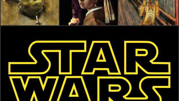(foto) 15 picturi faimoase reinterpretate în stilul Star Wars
