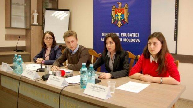 Membrii Consiliului Național al Elevilor din colegii și școli profesionale s-au întrunit la Chișinău