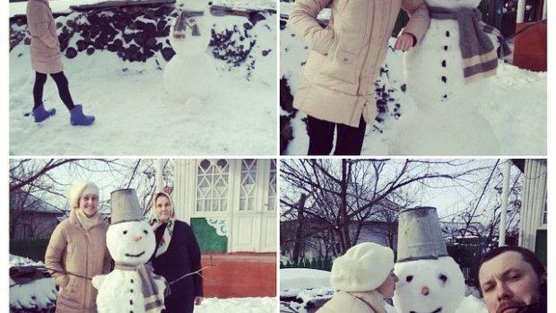 (foto) Recensământul oamenilor de zăpadă din Moldova