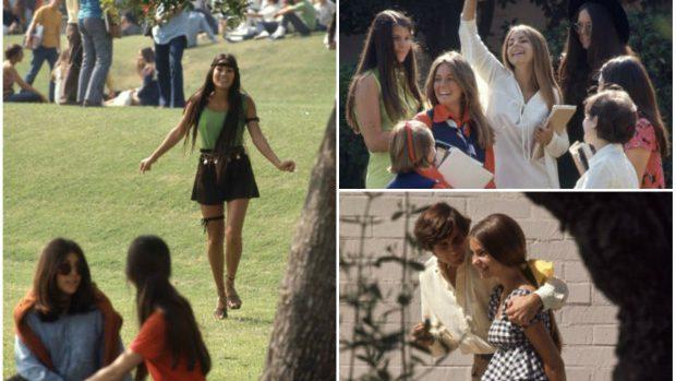 (foto) Cum arăta viața dintr-un liceu din California în anul 1969