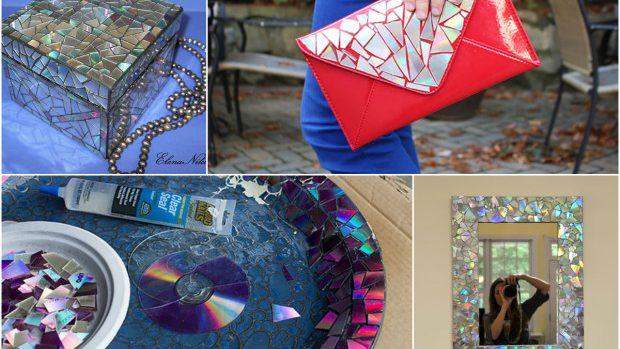 (foto) 15 idei cum să refolosești CD-urile vechi