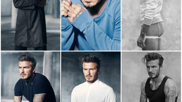 (foto, video) David Beckham într-o nouă colaborare cu H&M