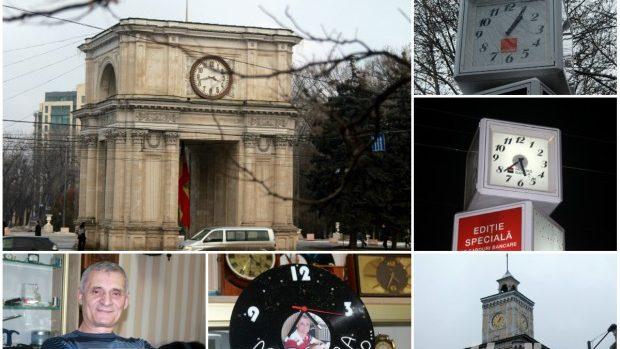 (foto) Cât e ora în Chișinău? Ceasurile de pe străzile capitalei și povestea de dincolo de aparențe