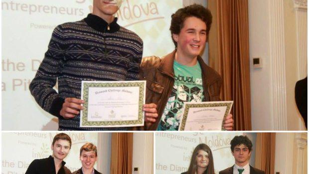 (foto) Cele mai bune idei de afaceri au fost premiate în finala competiției Diamond Challenge Moldova