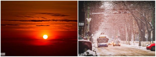 (foto) Chișinău: Ce ai fi văzut dacă te trezeai dimineața devreme