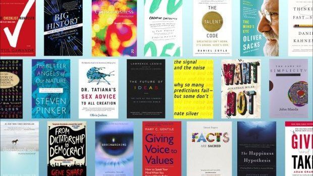 (foto) 53 de cărți pe diverse domenii recomandate de speakerii TED