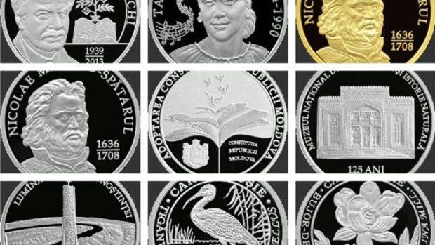 (foto) De vânzare! Ce preț vor avea monedele, bancnotele jubiliare şi comemorative emise de BNM