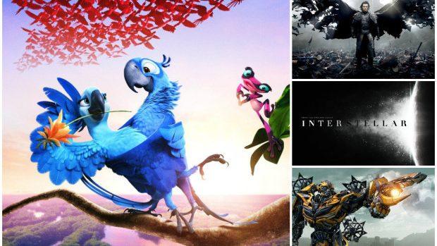 Cele mai vizionate filme din 2014 în cinematografele din Republica Moldova