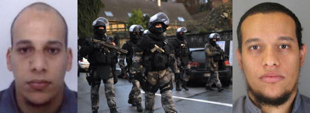 Suspecții de la Charlie Hebdo au luat ostatici într-o tipografie