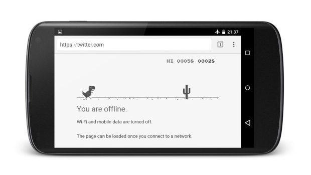 (video) Jocul ascuns de pe Google Chrome ce se activează când rămâi fără Internet