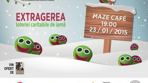Participă la Loteria Caritabilă de Iarnă marca HOSPICE Angelus Moldova