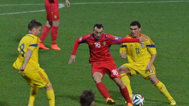 România s-a impus în fața Moldovei într-un meci amical