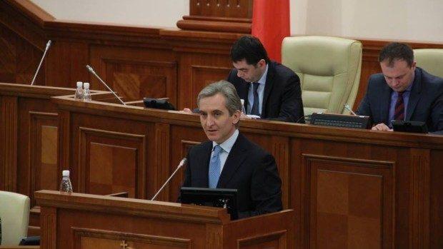Discursul lui Iurie Leancă în ședința în plen a Parlamentului, 12 februarie 2015