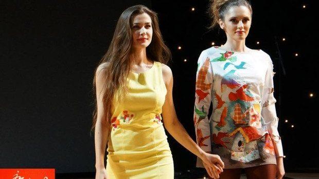 """(foto) Picturile îmbracate ale artistei Irina Madan la """"Art & Fashion – Industry of beauty"""" în Londra"""