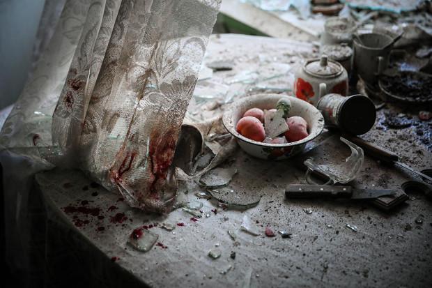 Primul loc la categoria Știri, Masa din bucătărie, Sergei Ilnitsky/European Press Photo agency. PC:
