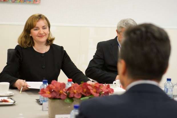 The Minister of Foreign Affairs of the Republic of Moldova visits NATO