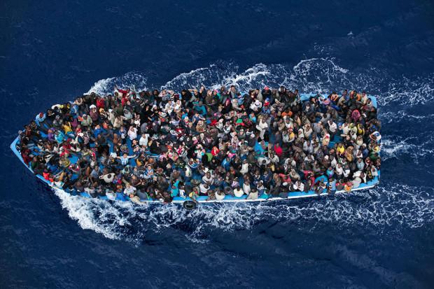 Al doilea loc la categoria Știri, Operațiune riscantă, de Massimo Sestini. PC: worldpressphoto.org