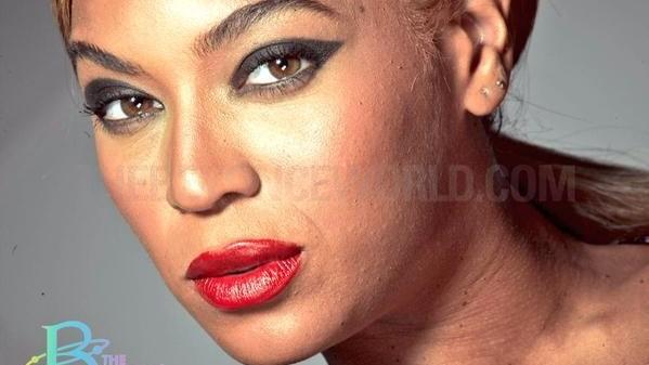 (foto) Photoshop-ul face minuni. Cum arată Beyoncé cu acnee în poze neretușate