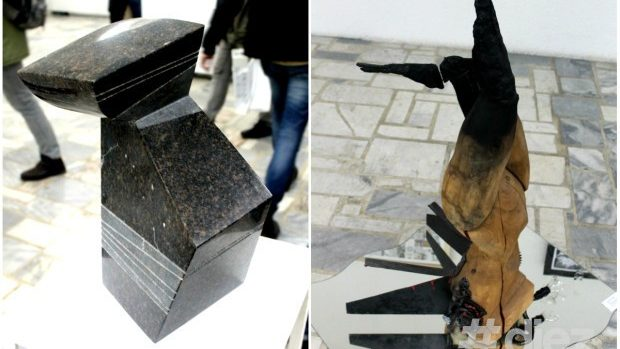 """(foto) Cele mai originale sculpturi de la expoziția """"Noi, tineretul creator"""""""