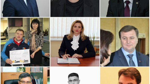 (foto) Cine sunt și ce funcții au ocupat anterior noii miniștri din Guvernul Leancă 2