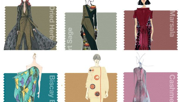 Cele 10 culori ale toamnei 2015, prezentate de Societatea Pantone
