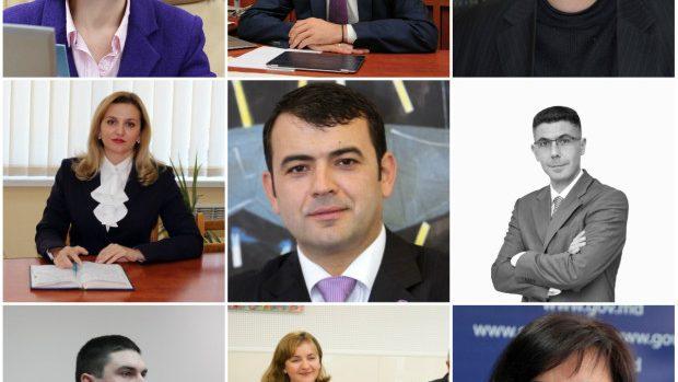 (foto) Cine sunt și ce funcții au ocupat anterior miniștri din Guvernul lui Gaburici