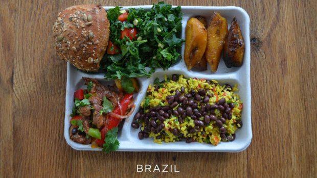 (foto) Cum arată masa de prânz a copiilor în diferite țări