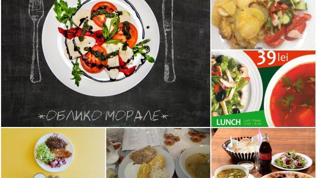 Best of: Cele mai bune localuri din centrul Chișinăului pentru a lua prânzul