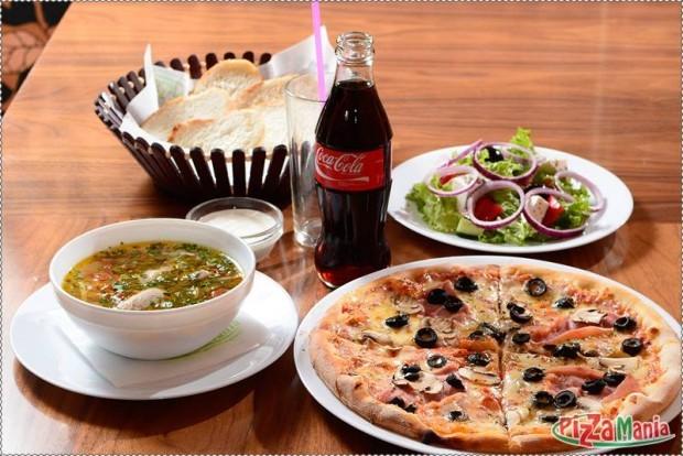 Prânz la Pizzamania