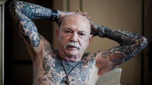 (foto) Tatuajele pot fi perfecte și la bătrânețe