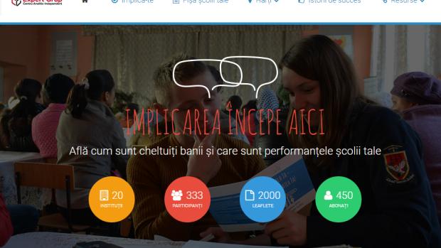 Scoalamea.md – website-ul care vrea să democratizeze școlile din Moldova