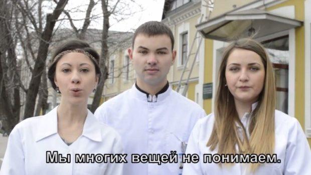(video) Studenții din Moldova vin cu o adresare studenților din Ucraina și Rusia