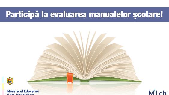 """(video) Platforma """"Vreau manuale bune"""" – contribuie și tu la îmbunătățirea manualelor școlare"""