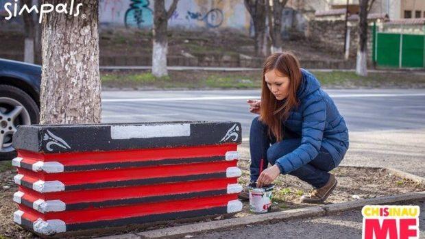 (foto) Acordeonul – un nou obiect artistic creat de Chișinău Is Me