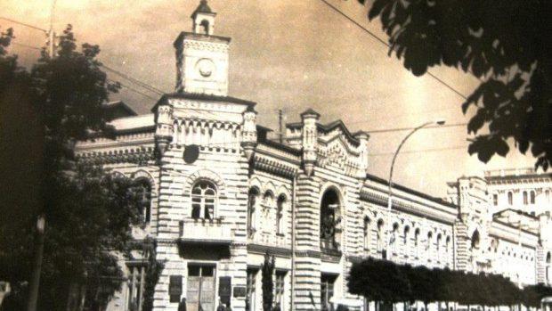 (foto) Istoria și arhitectura Primăriei Chișinăului, Clădirea fostei Dume orăşeneşti