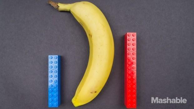 (foto) Experiment care a demonstrat că mărimea chiar contează