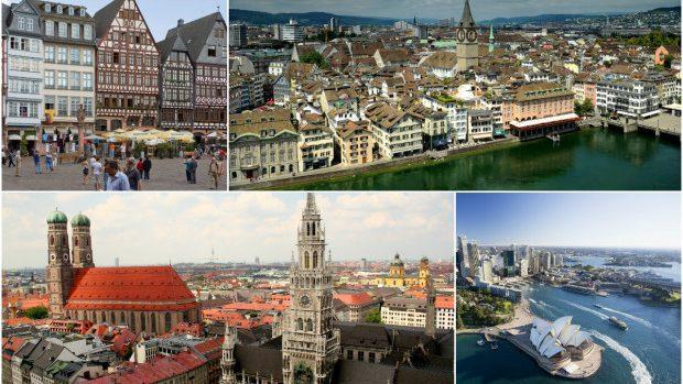 Top 10 orașe în care un străin trăiește cel mai bine în 2015