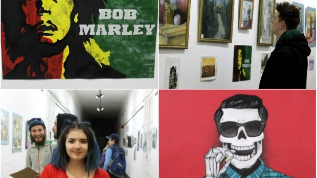 """(foto) Un """"Boom"""" de lucrări ale pictorilor amatori a fost expus la galeria """"Mg12"""""""