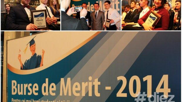 (foto) 50 cei mai buni studenți ai țării au primit Burse de Merit